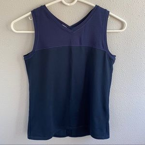 Ivivva Loose Fit Tank Top Navy Blue